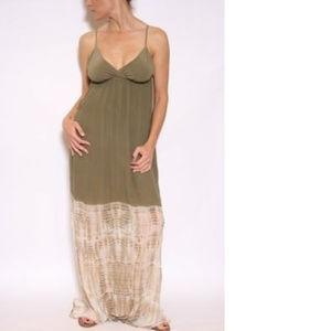 NWT $269 Gypsy 05 TALYA Silk Tie Dye Empire Dress